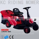 "26"" Petrol Ride on lawn Mower/ lawn tractor / Riding lawn mower with rear grass catcher KCR26RC"