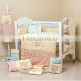 100% cotton baby Bed Set duvet Cover bedding Set