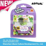 Creative fashion AE104 artkal fuse beads kits for kids christmas gifts