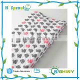 Waterproof and Reusable Infant Changing Pad Cover with new design