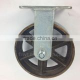 High Temperature Resistance Cast Iron Caster Wheels Wholesale