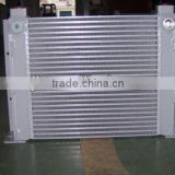 Hydraulic plate fin air oil heat exchanger