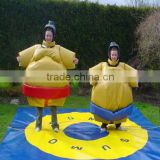 Hola funny foam padded sumo suits/kids sumo wrestling suit/sumo wrestling suits for sale