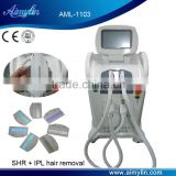 Fine Lines Removal Arms / Legs Hair Removal Professional Ipl Shr Hair 2.6MHZ Breast Lifting Up Removal Device With 1000000 Shots Intense Pulsed Flash Lamp 10MHz