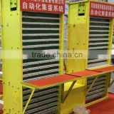 Automatic poultry feeding equipment --egg collection system