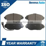 3C0698151F OEM Brake Pads For VW CC/GOLF/PASSAT; AUDI A3/S3; SKODA OCTAVIA/SUPERB; SKODA LEON