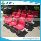 sport bleachers stadium chair, portable grandstand seating