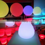 home decorative wireless remote control 16 color change table led lamp