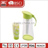Home party drinkware cold water dispenser plastic water kettle teapots with cups wholesale