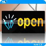 High brightness advertising LED resin sign open and close LED signs LED resin sign for shop bar hotel