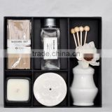 Aroma Incense Stick/Scented Candle Fragrance Reed Diffuser Set/Incense Ceramic Holder