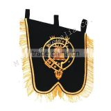 Hand Embroidered Military band banners,Highland Uniforms & Accessories