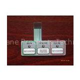 Professional membrane switch panel sticker , membrane touch switch keypad