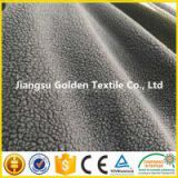 Embossed PV PLUSH 100% polyester fabric for toys/garment/baby products/clothing/carpets/home