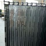 Application of metal chain plate conveyor belt