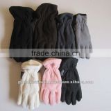 Polar Fleece Gloves Stock Lot