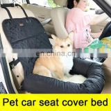 wholesale Anti slip waterproof pet car front seat cover pet bed for cat dog
