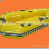 Yellow Inflatable Rubber Kayak