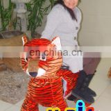 Tiger Animal Walking kiddie car for shopping mall