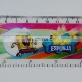 high quality lenticular effect UV printed cute ruler