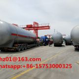 Factory manufacture 50000Liters LPG Storage Tank for sale in Nigeria
