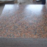 G562 granite red floor tile kitchen countertops & steps