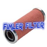 Replacement Vacuum Pump Exhaust filter cartridge SOGEVAC SV 16/25 - BR1, 71064753