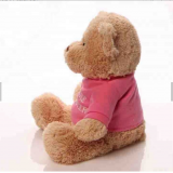 China OEM ODM Classic Stuffed Animal  Custom 30cm Teddy Bear Plush Toys With Shirt