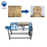 Simple structure Semi Auto Rice Straw Rope Making Machine