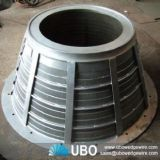 Stainless Steel Wedge Wire Basket Strainers