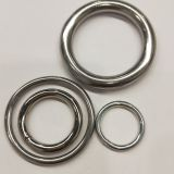 O Ring HKS317 Stainless Steel For Sail Boats & Yachts Highly Polished Round Ring Welded
