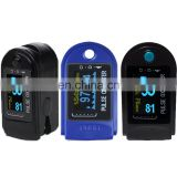 Oxygen staturation Monitor flexible oled displays Cheap Pulse Oximeter with Optional Pouch