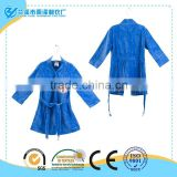 Top cotton warm children bathrobe with dog pattern for wholesale