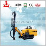 KT8 hydraulic Crawler portable integral open air drill rig for mine