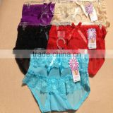 0.62USD 100% High Quality Mixing Colors Softy Material Fat Sexy Ladies Panties/Thongs/Lady Panty (lppgdnk047)