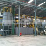 Most profitable used tyre pyrolysis unit used plastic recycling machine
