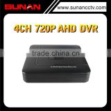 2015 Top 10 Sales Cheap 4CH 720P AHD Mini 1U DVR Hi3520D with P2P and free xmeye software dvr