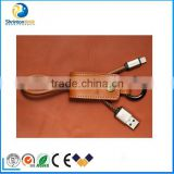 Mobile Phone,Computer use, Charger Cable Keychain REMAX USB Cable 1ft Short Data Cable for iPhone 6S, 6S Plus, iPad