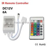 Led Strip Light Mini IR Remote Controller DC 12V For RGB SMD 5050 3014 3528 Fita Led String Ribbon Tape Wireless 24 Keys