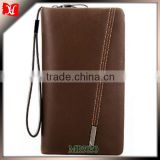 2016 newest style wallet men's Clutch bag card-slot pu leather cell mobile phone case