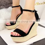 Summer styles Luxury Designer Women Platform Wedge Sandals Fashion High Heels summer women's wedge shoes                                                                         Quality Choice