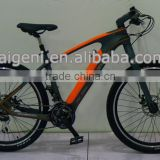New design carbon electric mountain bike with hidden lithium battery                                                                         Quality Choice