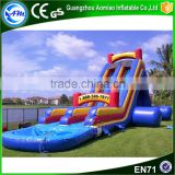 New product larger size inflatable jump slide,inflatable water slip slide for sale