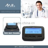 GOLD APOLLO - two way pager wireless pager system alphanumeric pager
