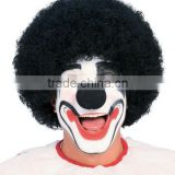 Black Clown Wig Afro Wig Magician Curly Halloween Costume Big Hair Wig SW-1501