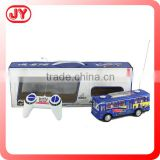 Hot selling radio control toys rc bus with light and music