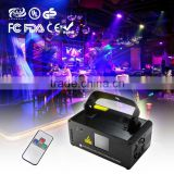 Hot Remote DMX Light 500mW Blue Laser Stage Lighting Scanner DJ Party Ball Show Light Projector