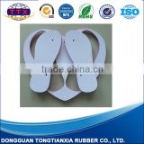Natural rubber fashion flip flops