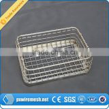 Customize Sterilization Stainless Steel Wire Mesh Tray and Basket