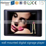 "Flintstone 15inch digital signage display lcd monitor usb video media player for advertising 15"" digital signage player board"